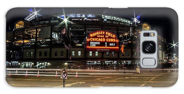 Wrigley Field Marquee At Night Galaxy Case