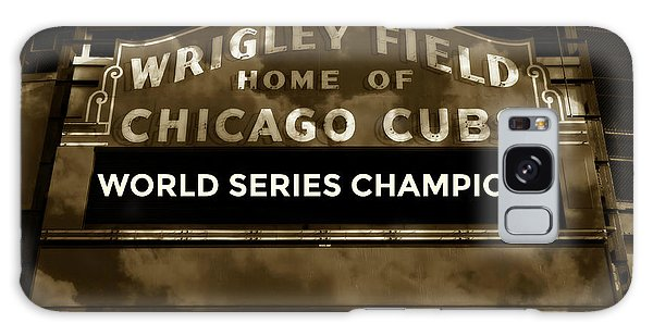 Chicago Art Galaxy Case - Wrigley Field Sign - Vintage by Stephen Stookey