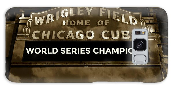 Wrigley Field Sign - Vintage Galaxy Case