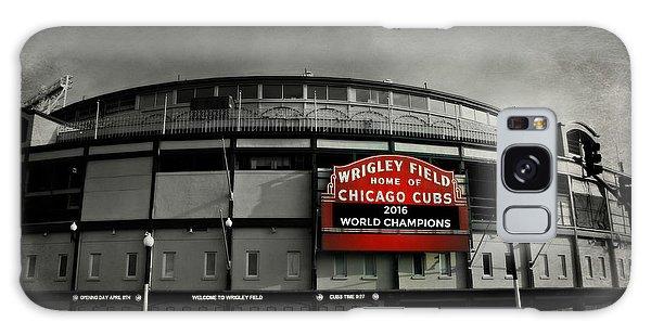 Baseball Galaxy Case - Wrigley Field by Stephen Stookey