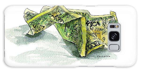 Wrinkled Dollar Galaxy Case