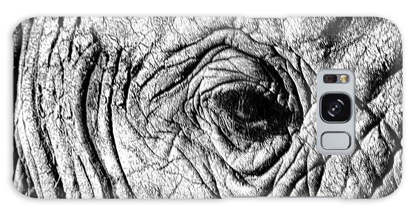 Wrinkled Eye Galaxy Case