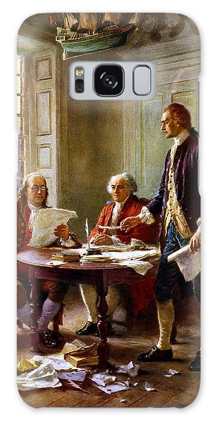 Thomas Jefferson Galaxy Case - Writing The Declaration Of Independence by War Is Hell Store