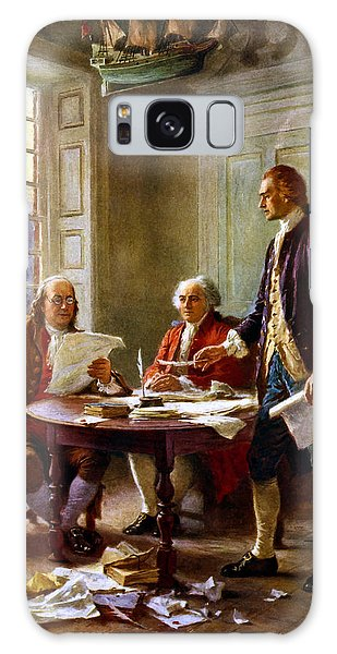 States Galaxy Case - Writing The Declaration Of Independence by War Is Hell Store