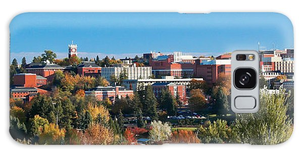Wsu Autumn Panorama Galaxy Case