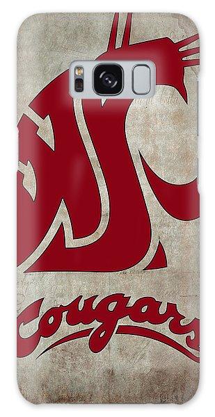 W S U Cougars Galaxy Case by Daniel Hagerman