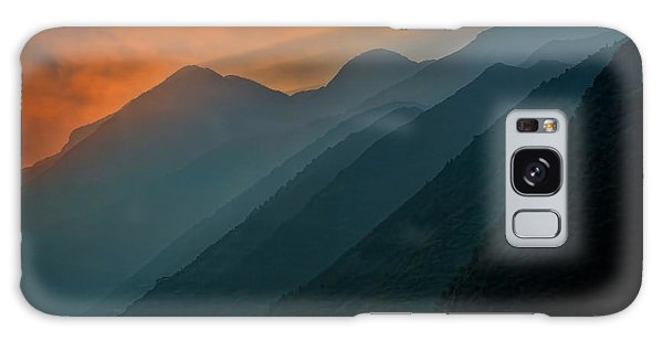 Wu Gorge Sunrise Galaxy Case