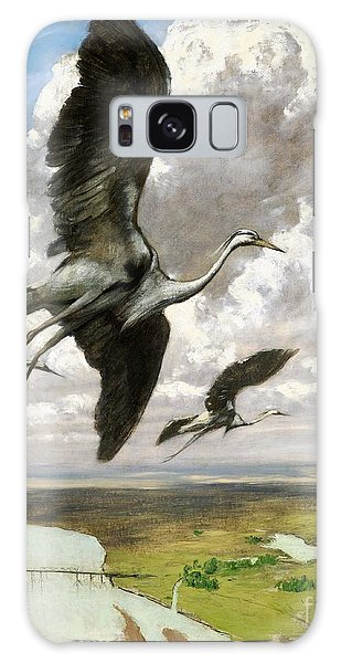Wundervogel Galaxy Case by Pg Reproductions