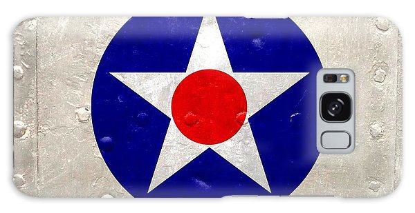 Ww2 Army Air Corp Insignia Galaxy Case by John Wills
