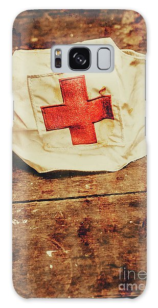 Ww2 Nurse Hat. Army Medical Corps Galaxy Case by Jorgo Photography - Wall Art Gallery