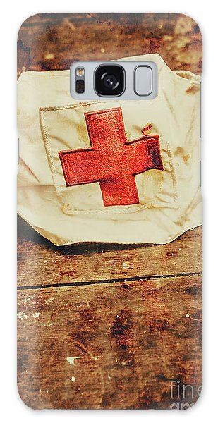 Ww2 Nurse Hat. Army Medical Corps Galaxy Case