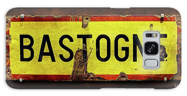 Wwii Bastogne Town Sign Galaxy Case