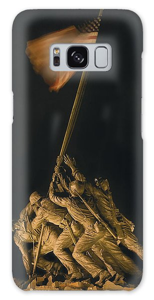 Iwo Jima Remembrance Galaxy Case