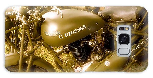 Wwii Triumph Despatch Rider Motorcycle Galaxy Case