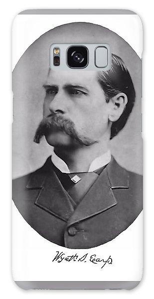 Wyatt Earp Autographed Galaxy Case
