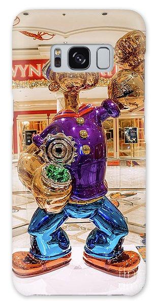 Wynn Popeye Statue By Jeff Koons Galaxy Case