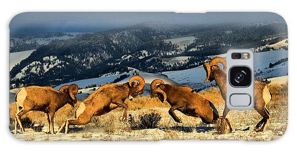Wyoming Bighorn Brawl Galaxy Case