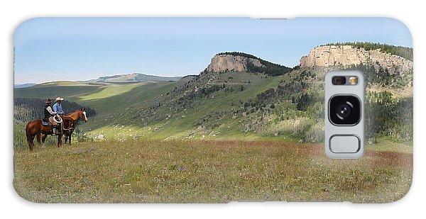 Wyoming Bluffs Galaxy Case
