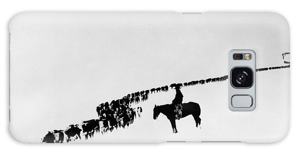 Horse Galaxy Case - Wyoming: Cattle, C1920 by Granger