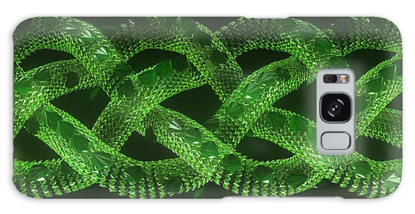 Galaxy Case - Wyrm - The Celtic Serpent by Jules Gompertz