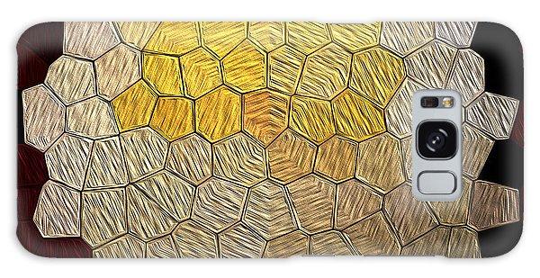 X-mas Tiles Galaxy Case