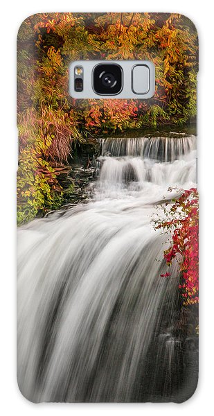 Fall At Minnehaha Falls Galaxy Case