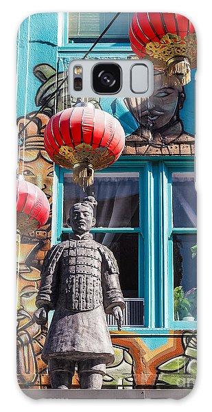 Xian Soldier With Graffiti Galaxy Case