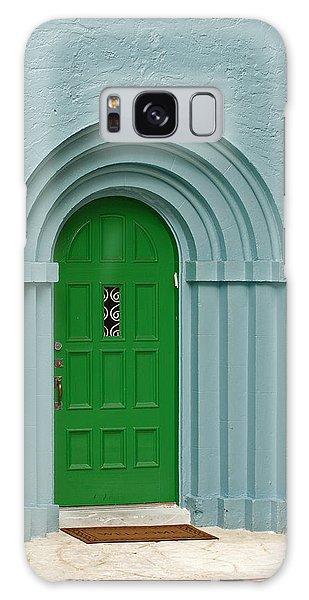 Xmas Door Galaxy Case