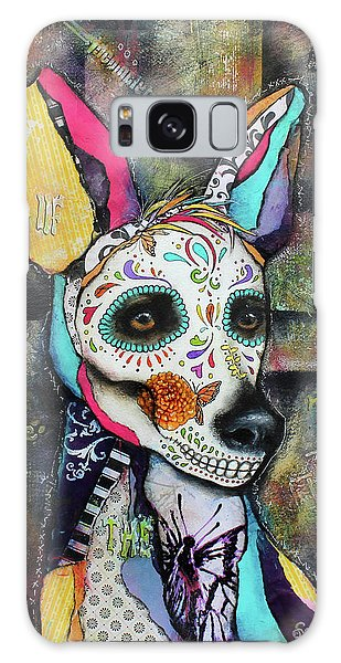 Xolo Mexican Hairless Day Of The Dead Galaxy Case