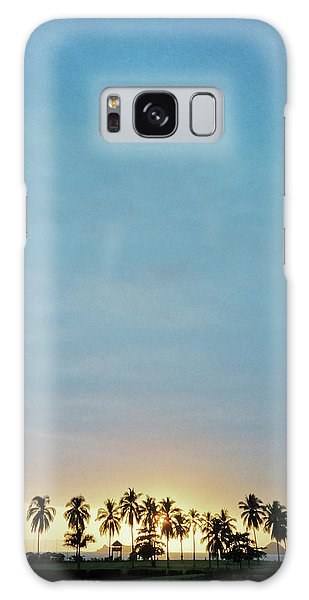 Galaxy Case featuring the photograph Xtapa Sunset by Frank DiMarco