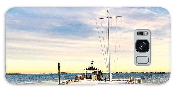 Yacht Club Launch Shack Galaxy Case