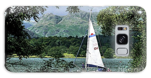 Yachting Lake Windermere Galaxy Case