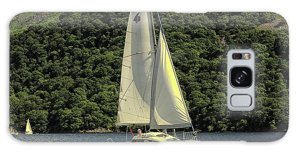 Motor Yacht Galaxy Case - Yachting On The Lakes by Martin Newman