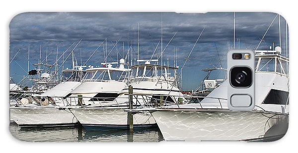 Yachts At The Dock Galaxy Case