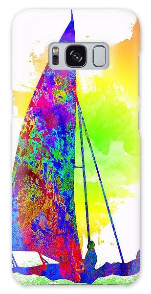Sportsman Galaxy Case - Yachtsman by Elena Kosvincheva