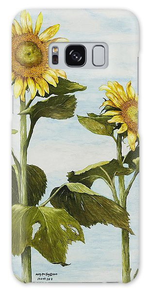 Yana's Sunflowers Galaxy Case