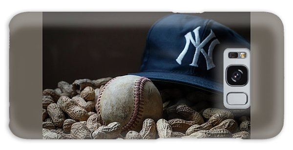 Yankee Cap Baseball And Peanuts Galaxy Case