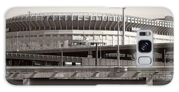 Yankee Stadium Galaxy S8 Case - Yankee Stadium    1923  -  2008 by Daniel Hagerman