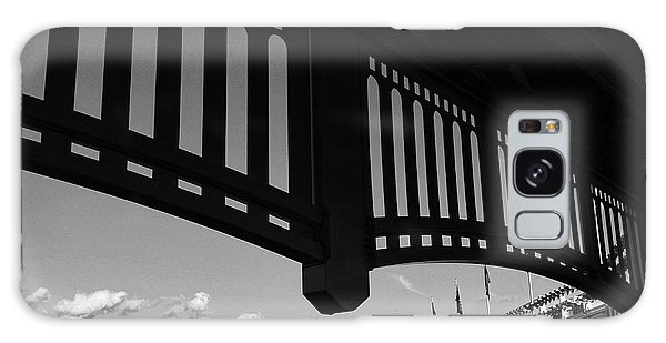 Yankee Stadium Facade - B And W Galaxy Case