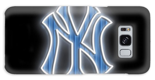 New Trend Galaxy Case - Yankees Neon Sign by Ricky Barnard