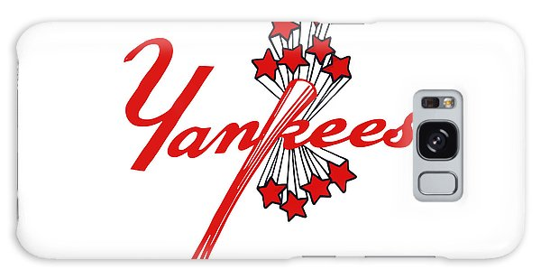 Yankees Vintage Galaxy Case by Gina Dsgn