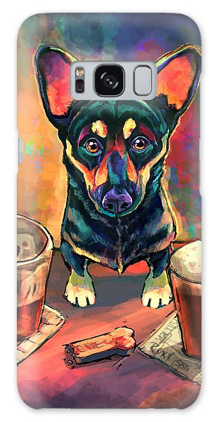 Beer Galaxy S8 Case - Yappy Hour by Sean ODaniels