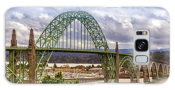 Galaxy Case featuring the photograph Yaquina Bay Bridge by James Eddy