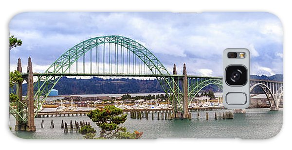 Yaquina Bay Bridge Panorama Galaxy Case