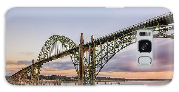 Yaquina Bay Bridge Galaxy Case