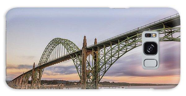 Yaquina Bay Bridge Galaxy Case