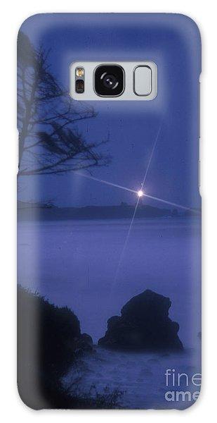 Yaquina Head At Night Galaxy Case