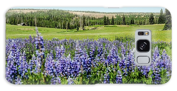 Yard Full Of Wildflowers Galaxy Case