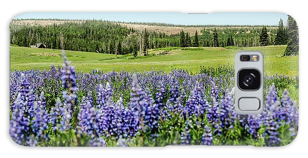 Yard Full Of Wildflowers Galaxy Case