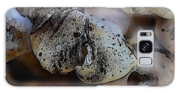Yard Mushrooms Galaxy Case